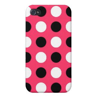 スイカの水玉模様 iPhone 4 カバー