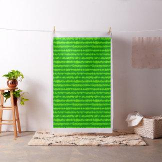スイカの緑の皮の夏のフルーツパターン ファブリック