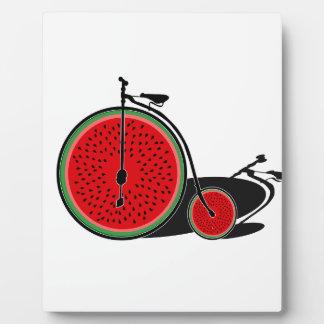 スイカの自転車 フォトプラーク