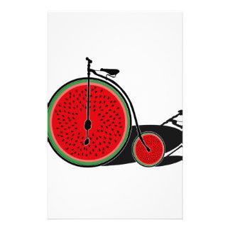 スイカの自転車 便箋