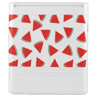 スイカパターン三角形 IGLOOクーラーボックス