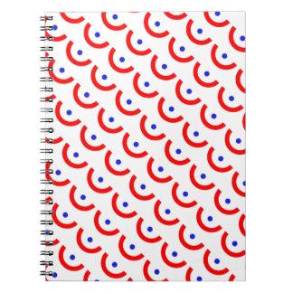 スイカパターン ノートブック