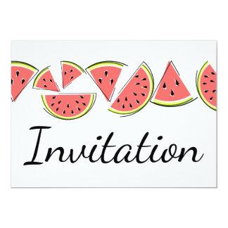 スイカライン招待 カード