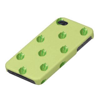 スイカ緑パターンiphone 4 iPhone 4 カバー