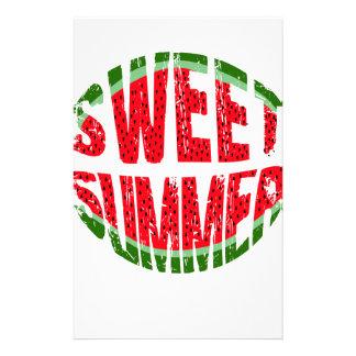 スイカ-甘い夏 便箋