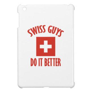 スイスの人のデザイン iPad MINI カバー