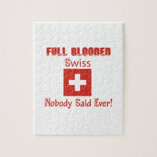 スイスの市民のデザイン ジグソーパズル