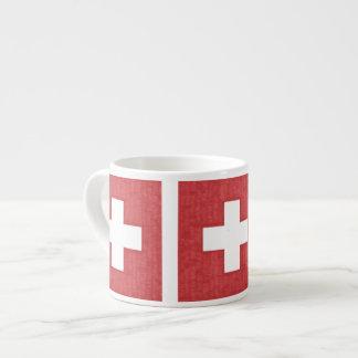 スイスの旗のエスプレッソのマグ エスプレッソカップ