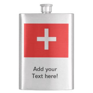 スイスの旗 フラスク