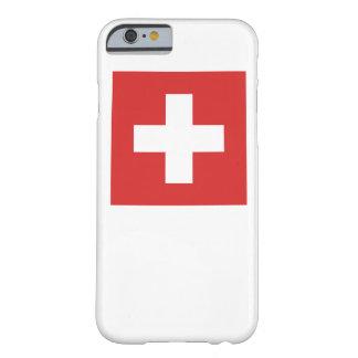 スイスの旗 BARELY THERE iPhone 6 ケース