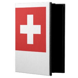 スイスの旗 iPad AIRケース