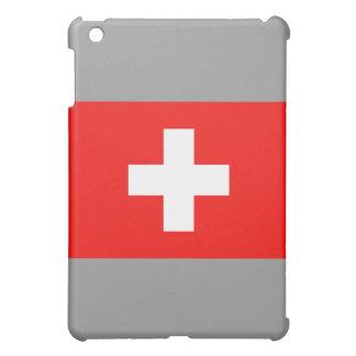 スイスの旗 iPad MINI CASE