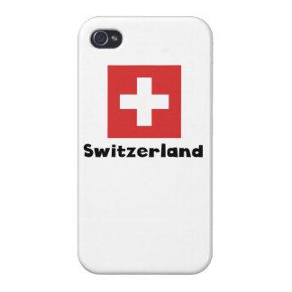 スイスの旗 iPhone 4 CASE