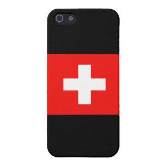 スイスの旗 iPhone 5 カバー