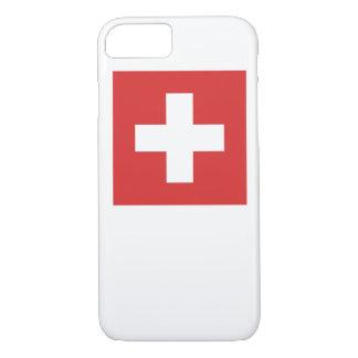 スイスの旗 iPhone 8/7ケース