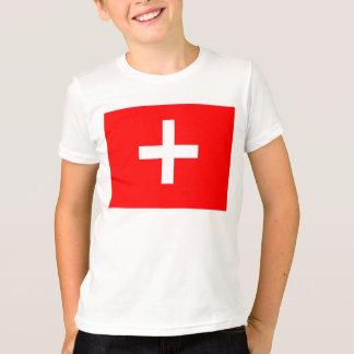 スイスの旗 Tシャツ