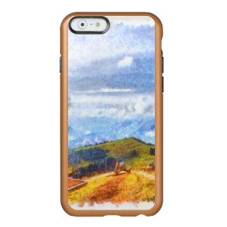 スイスの景色で出て行くこと INCIPIO FEATHER SHINE iPhone 6ケース