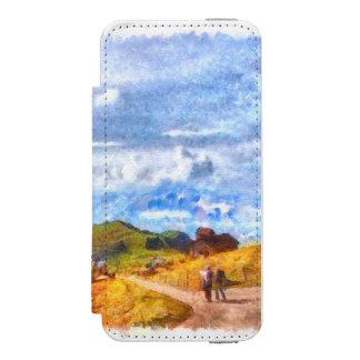 スイスの景色で出て行くこと INCIPIO WATSON™ iPhone 5 財布 ケース