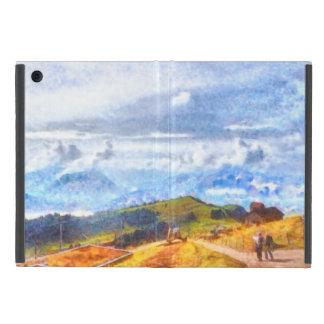 スイスの景色で出て行くこと iPad MINI ケース
