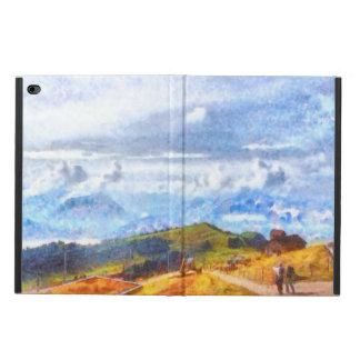スイスの景色で出て行くこと POWIS iPad AIR 2 ケース