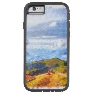 スイスの景色で出て行くこと TOUGH XTREME iPhone 6 ケース