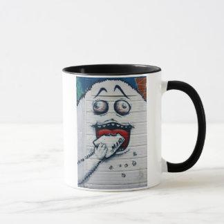 スイスの落書き マグカップ