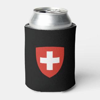 スイスの頂上のクーラーボックスSchweizer Wappen-Dosenkühl 缶クーラー