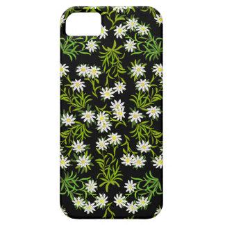 スイス人のEdelweissの高山の花のiPhoneの場合 iPhone SE/5/5s ケース