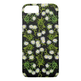 スイス人のEdelweissの高山の花のiPhone 7の場合 iPhone 8/7ケース