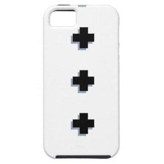 スイス人はモダンなスカンジナビアのデザインを交差させます iPhone SE/5/5s ケース