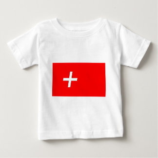 スイス人旗 ベビーTシャツ