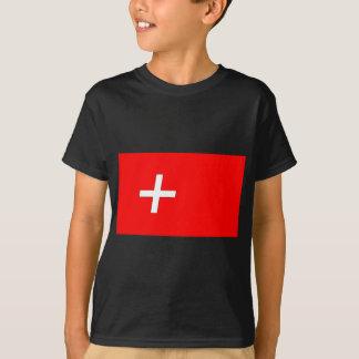 スイス人旗 Tシャツ