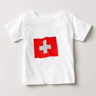 スイス人 ベビーTシャツ