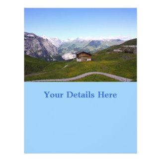 スイス人|家|アルプス チラシ広告
