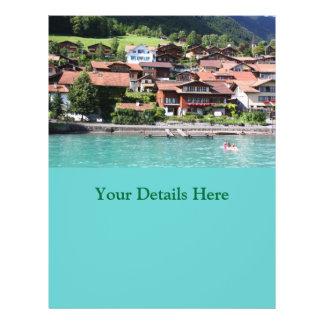 スイス人|家 チラシ広告デザイン