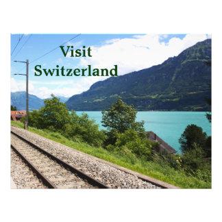 スイス人|鉄道|トラック パーソナライズチラシ広告