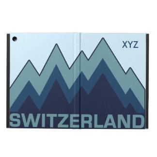スイス連邦共和国のカスタムなモノグラムのケース iPad AIRケース
