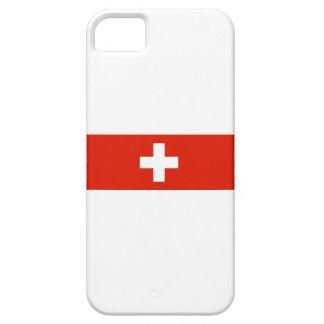 スイス連邦共和国の国旗のスイスの国家の記号 iPhone SE/5/5s ケース