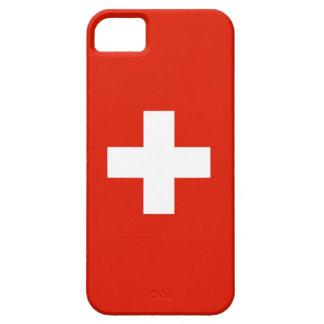 スイス連邦共和国の国旗の箱のスイス人 iPhone SE/5/5s ケース