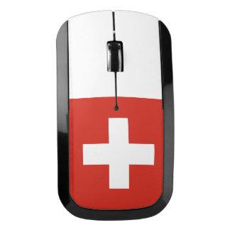 スイス連邦共和国の国旗 ワイヤレスマウス