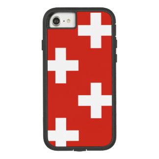 スイス連邦共和国の国旗 Case-Mate TOUGH EXTREME iPhone 8/7ケース