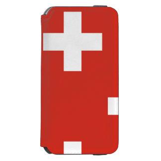 スイス連邦共和国の国旗 INCIPIO WATSON™ iPhone 5 財布型ケース