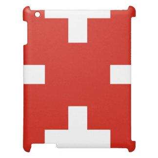 スイス連邦共和国の国旗 iPadケース