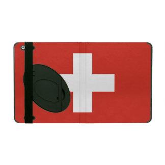 スイス連邦共和国の国旗 iPad ケース
