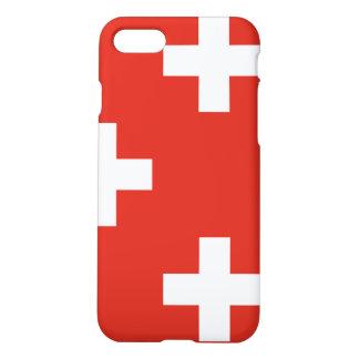 スイス連邦共和国の国旗 iPhone 8/7 ケース