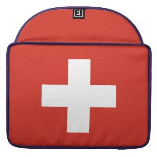 スイス連邦共和国の国旗 MacBook PROスリーブ