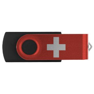 スイス連邦共和国の国旗 USBフラッシュドライブ