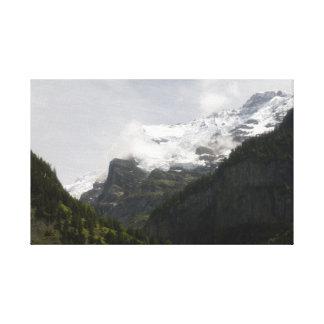スイス連邦共和国の夏 キャンバスプリント