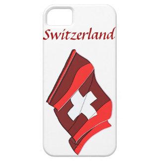 スイス連邦共和国の旗のデザインのiPhone 5の場合 iPhone SE/5/5s ケース