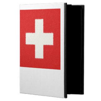 スイス連邦共和国の旗の油絵 iPad AIRケース